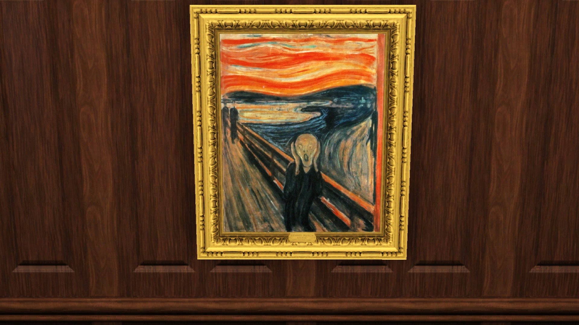 Mod The Sims The Scream By E Munch
