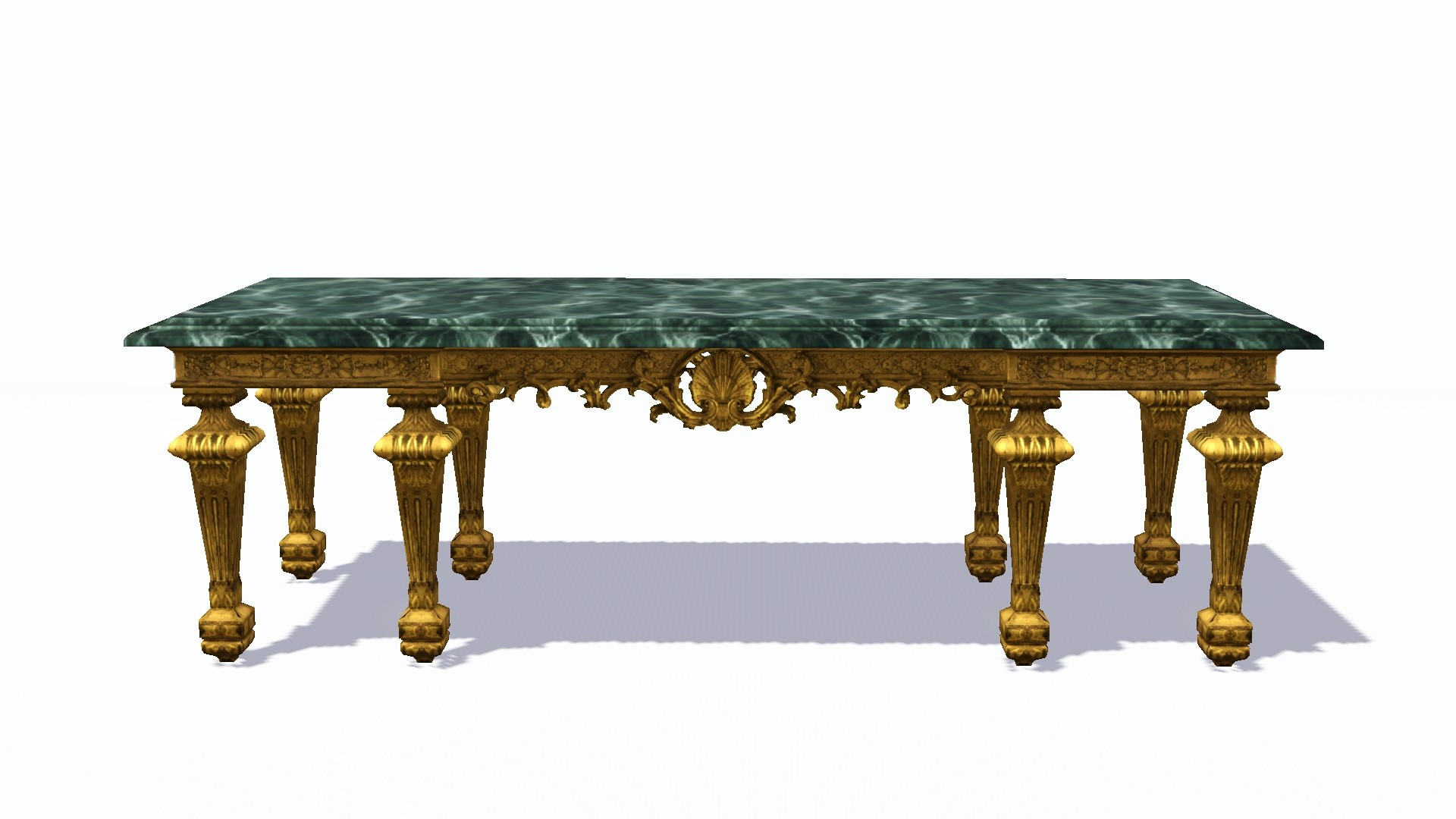mod the sims xviith century console dining table