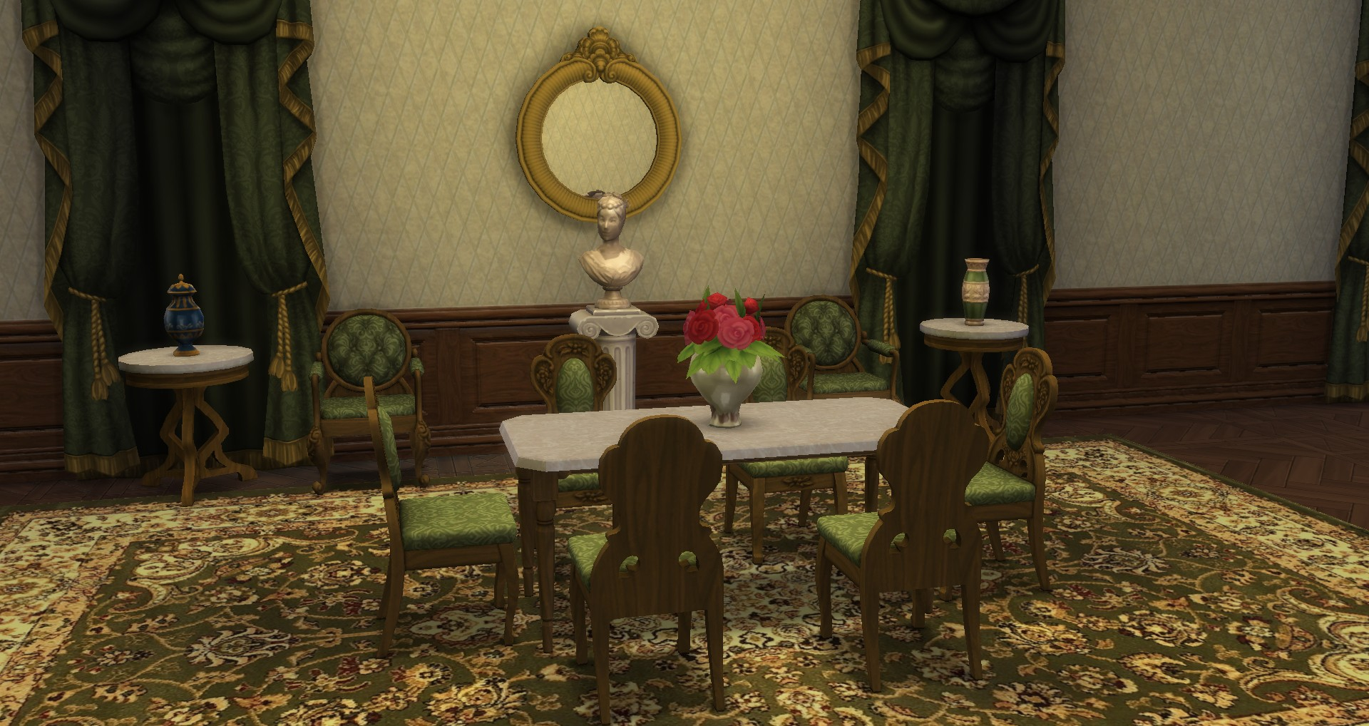 mod the sims victorian set from ts3