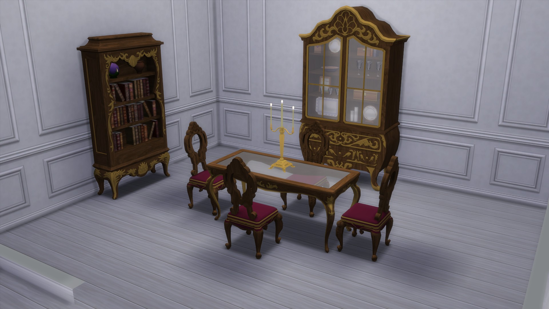 mod the sims dark lux dining room from ts3