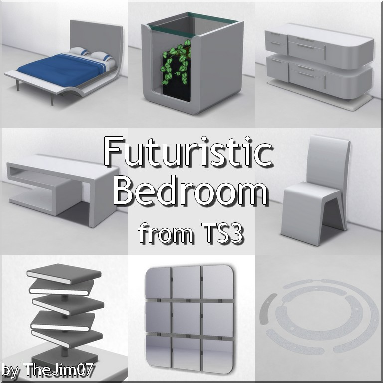 Futuristic Bedroom