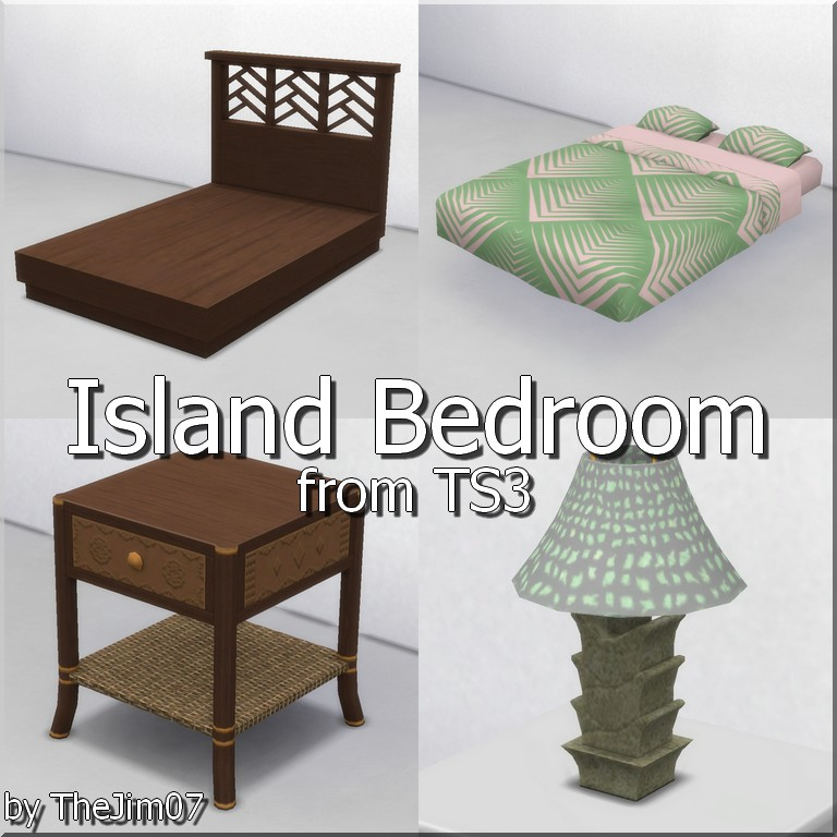 Мод Остров Спальня
