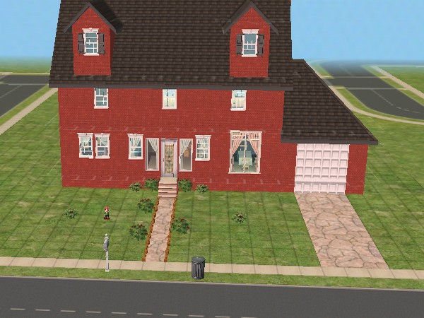 Mod the sims wallace and gromit 39 s house 62 west for Wallace custom homes