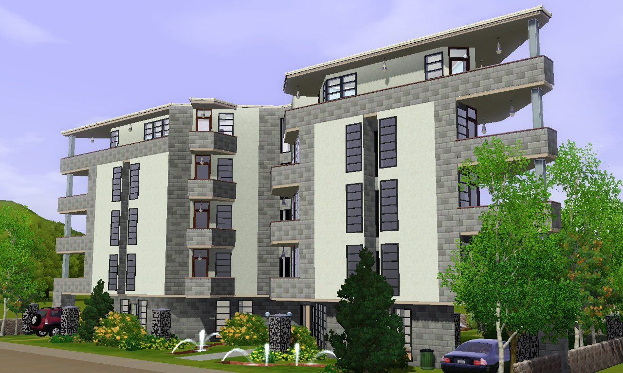 Mod the sims vegas apartment for Apartment design sims 3