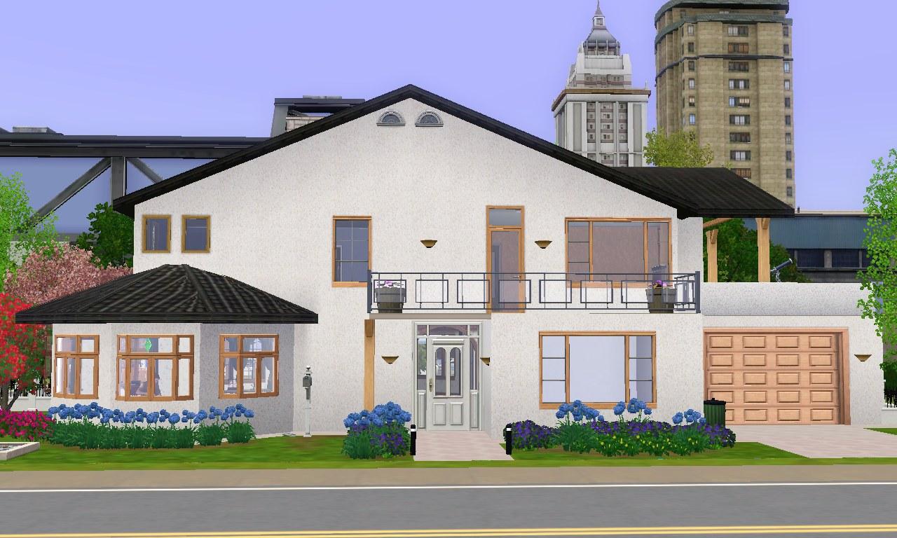 Mod the sims maison mara for Maison mara