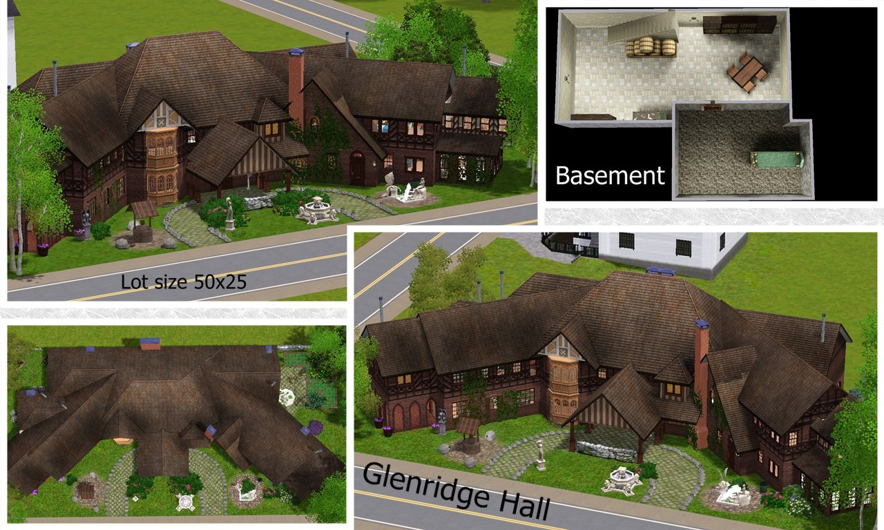 Off White Bedroom Sets Mod The Sims Glenridge Hall The Mansion From Tv Series