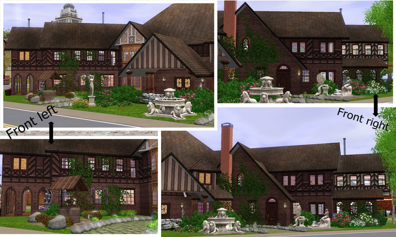 Mod The Sims Glenridge Hall The Mansion From Tv Series