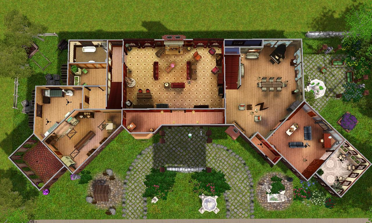 """Mod The Sims - Glenridge Hall - The mansion from TV series """"The ..."""