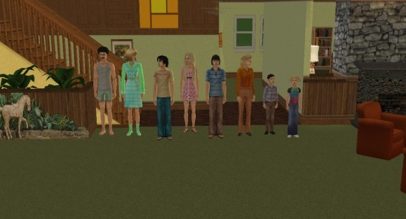 Mod The Sims Brady Bunch TV House