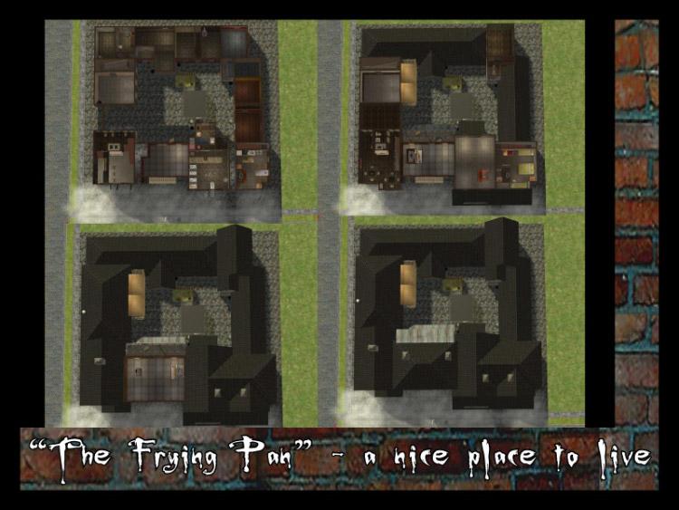 mod the sims the frying pan victorian slum. Black Bedroom Furniture Sets. Home Design Ideas