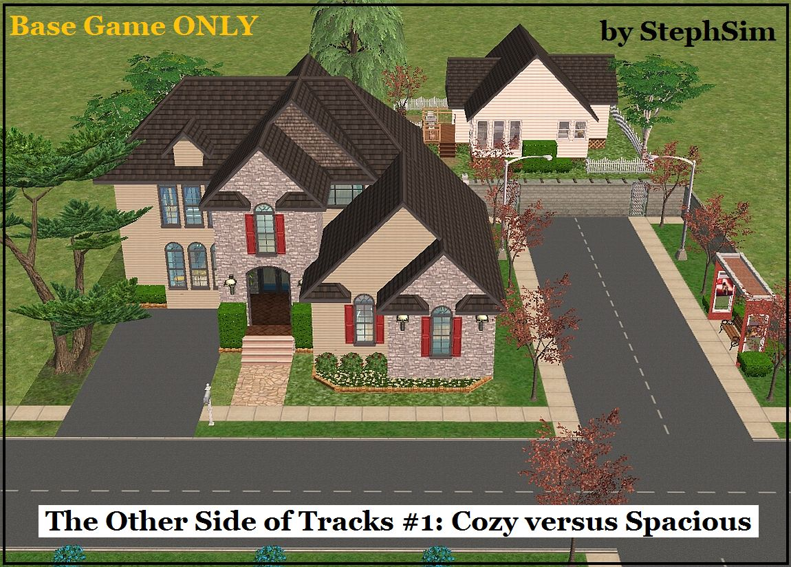 Mod the sims other side of the tracks 1 cozy versus for Lot one homes