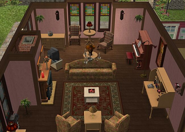 Mod The Sims Charmed Again Halliwell Manor