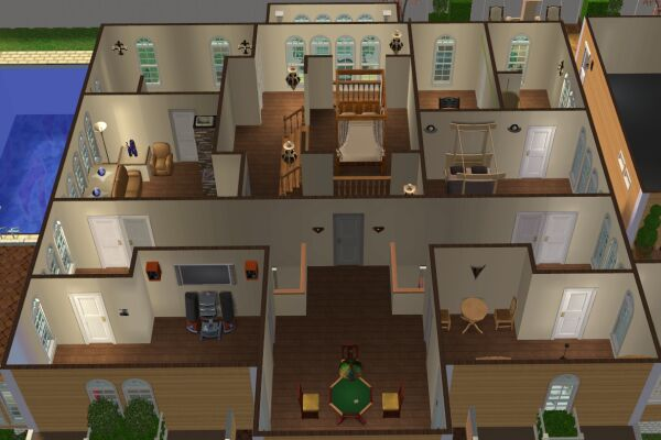 mod the sims desperate housewives solis residence. Black Bedroom Furniture Sets. Home Design Ideas