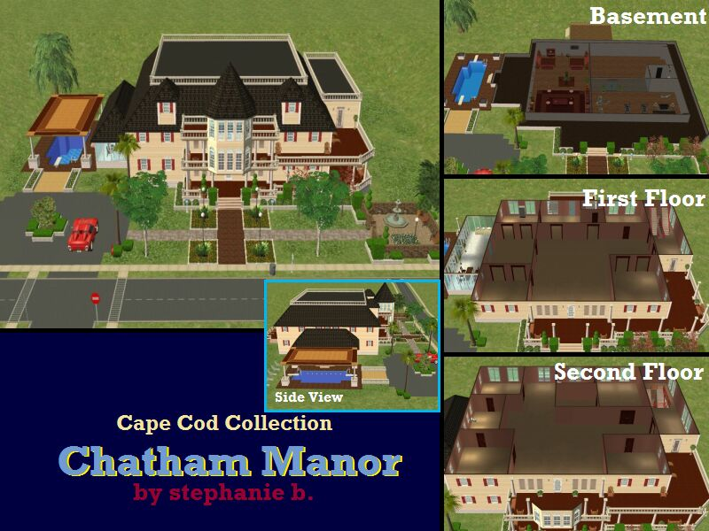 Mod the sims the cape cod collection 8 lots for Cape cod chat rooms