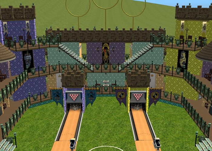 Quidditch Pitch Movie Mod The Sims - Harry P...