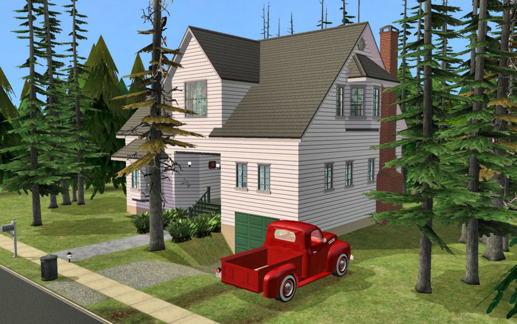 Twilight Home mod the sims - twilight: bella swan's house