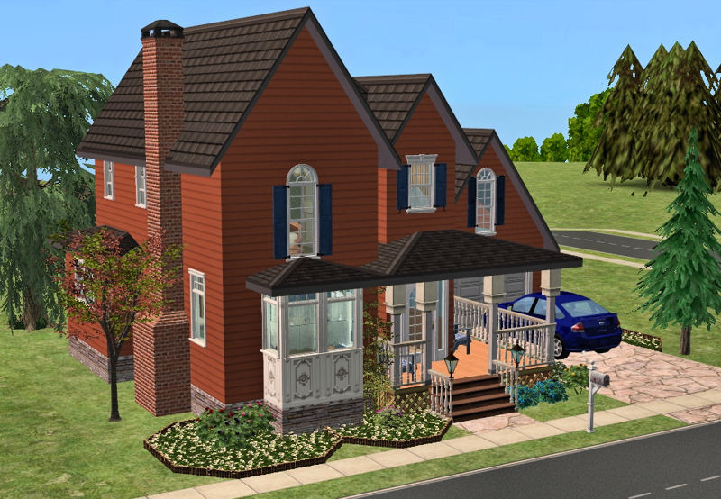 mod the sims - 8 small street