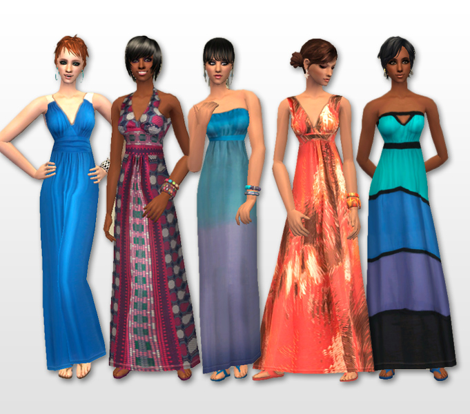 H m maxi dress 8550