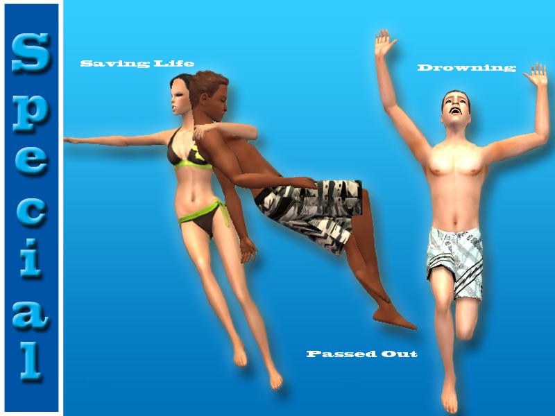 "Mod The Sims - **REQUEST** ""Splash!""-Swimming Posebox"