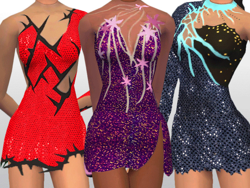 Mod The Sims Passion And Poise The Costume Leotard