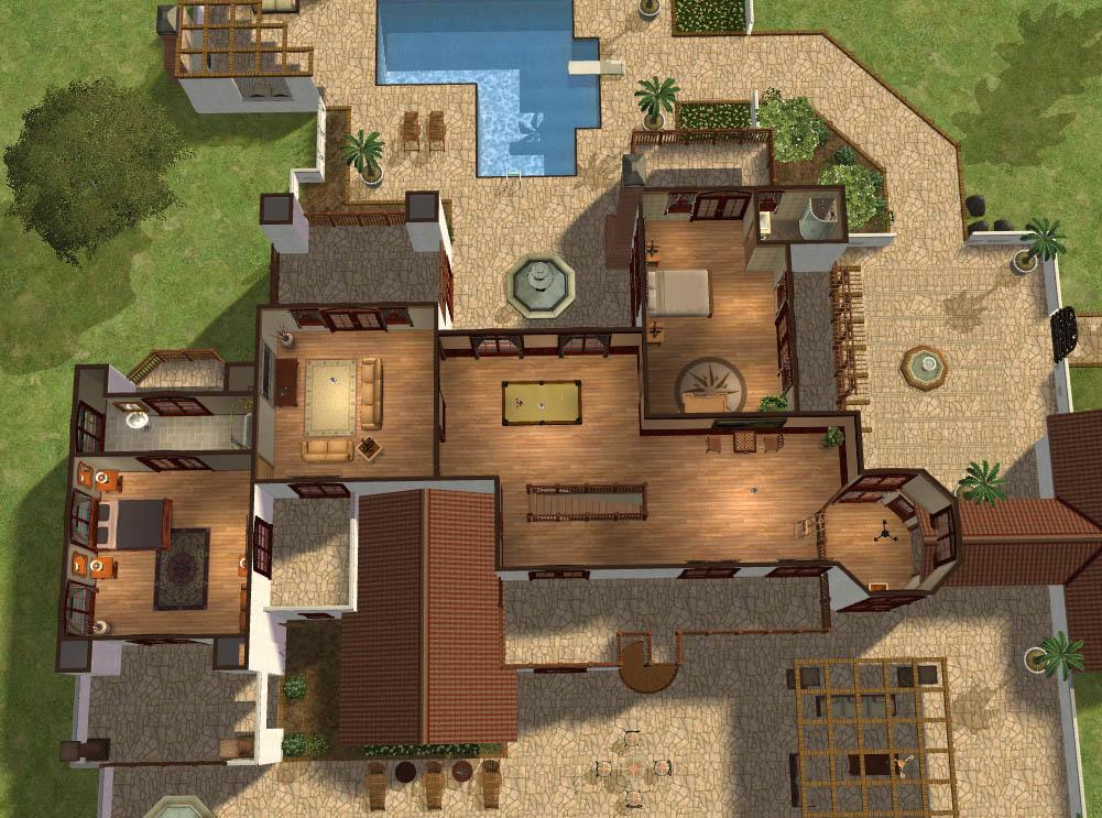 Mod The Sims La Hacienda Blanca