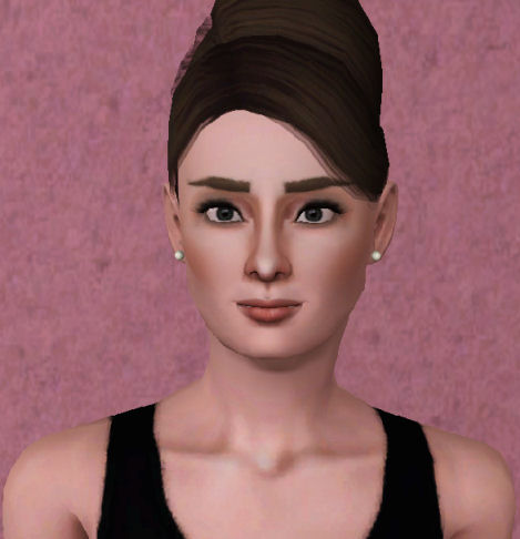 Mod The Sims Audrey Hepburn As Seen In Breakfast At Tiffanys