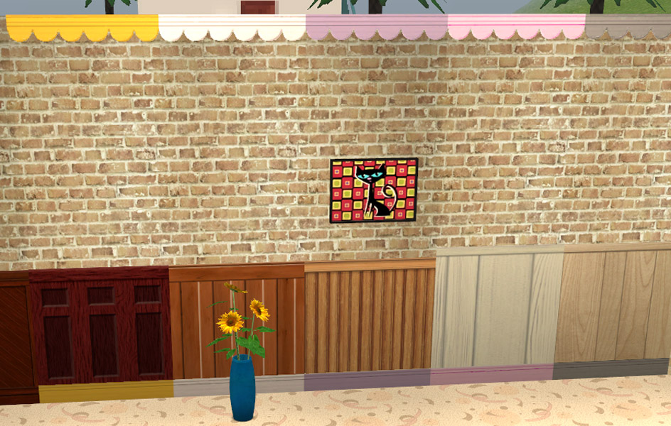 sps crown molding mod the sims wallpaper overlays the inside edition plus a