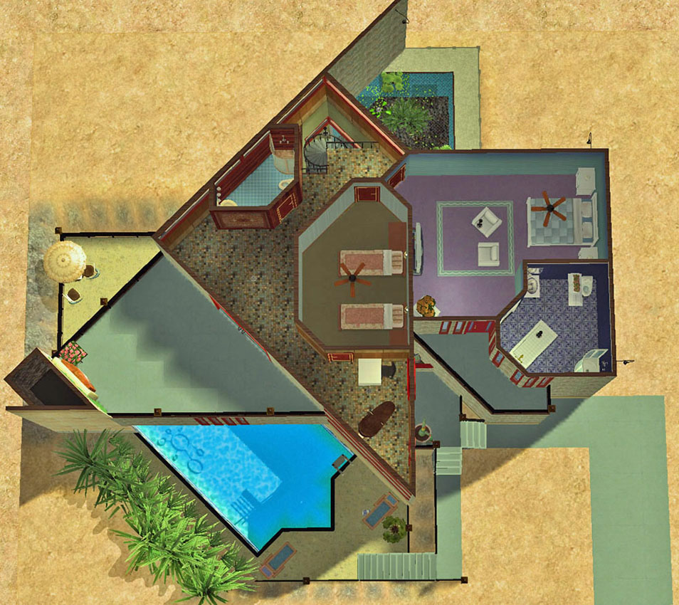 98+ Triangular House Floor Plans - How To Lay Out Decorate Modify ...