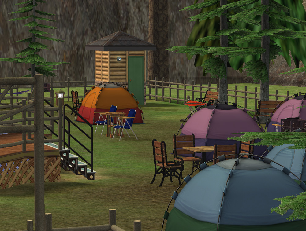 Mod The Sims - BV's Axe Wood Campgrounds - NOW with ...