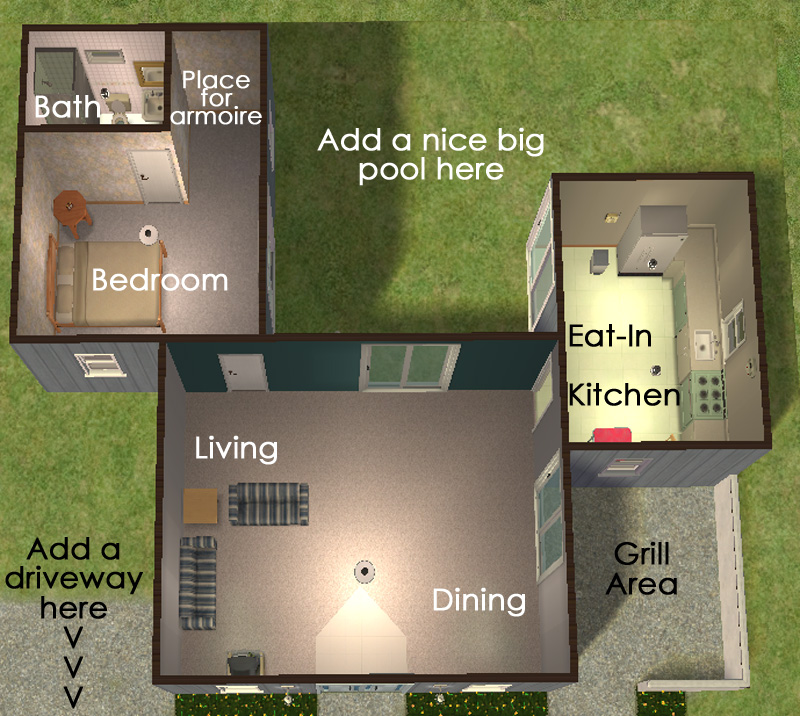 Mod The Sims Cat 39 S Simple Starter No Cc 19 973 Squeak