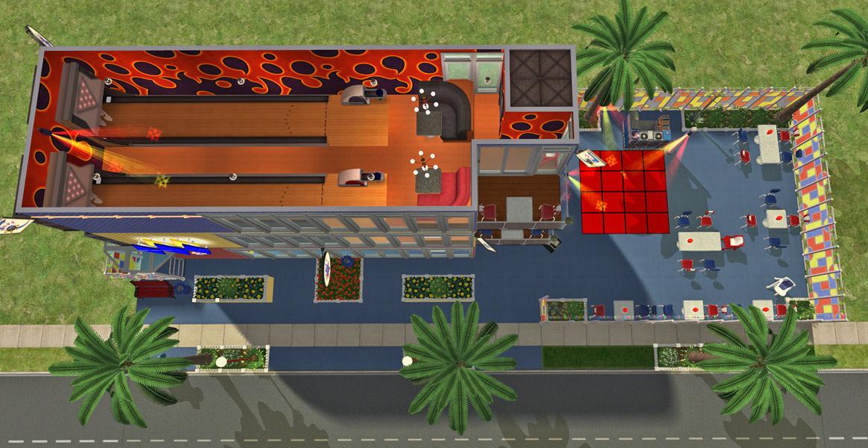 Mod The Sims Splitsville Luxury Lanes Sushi Steaks