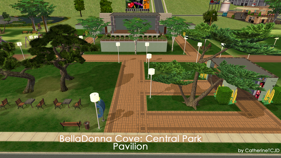 the third park area cat tackled under the watchful eyes of the bdc parks and recreation department was the pavilion section