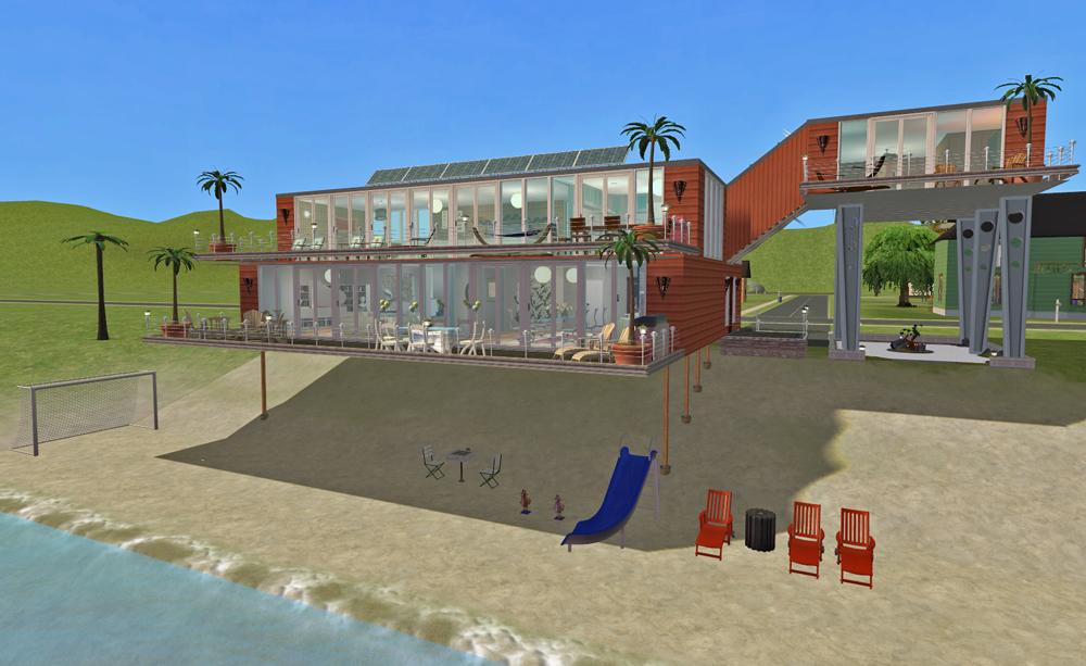 Mod The Sims The 6 Million Dollar House A Beach House