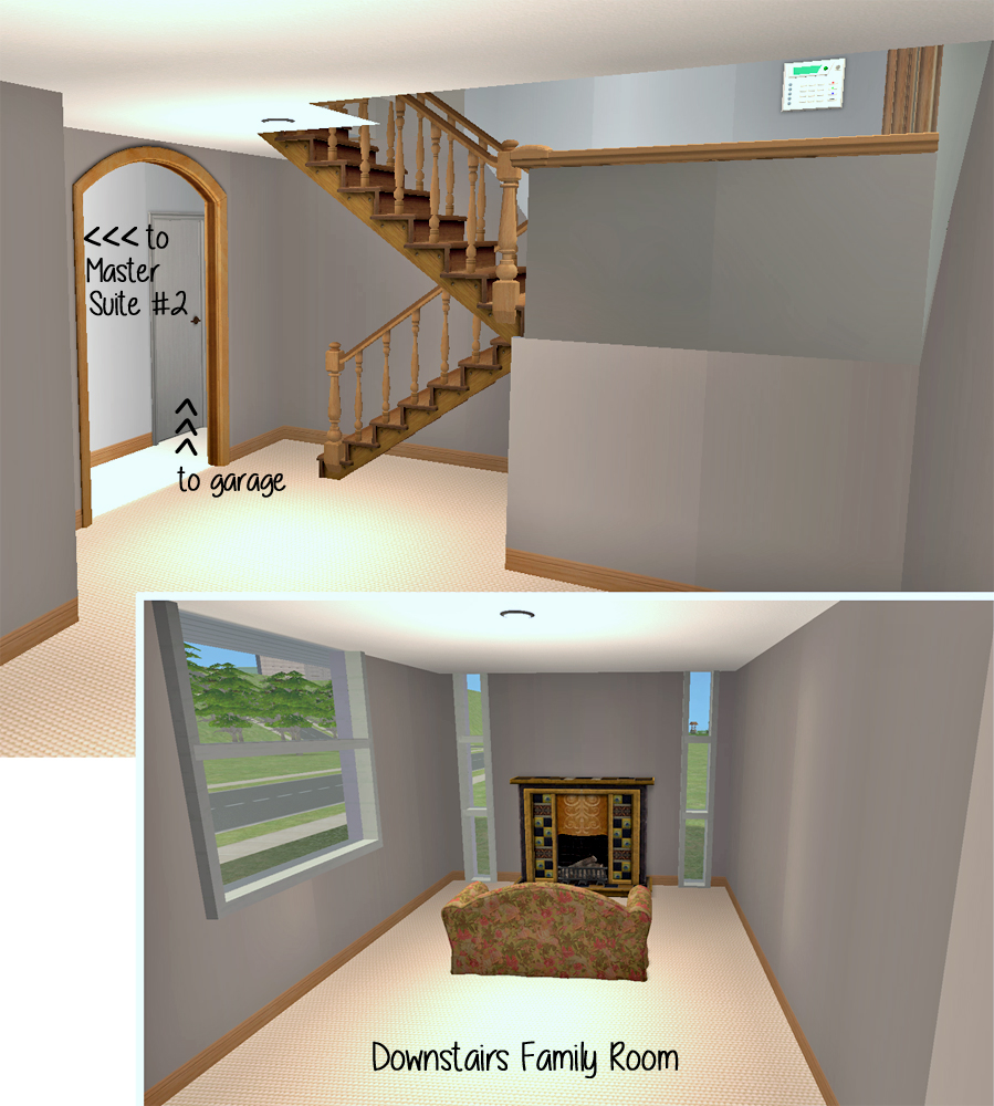 mod the sims bi level basics simple split level design advertisement