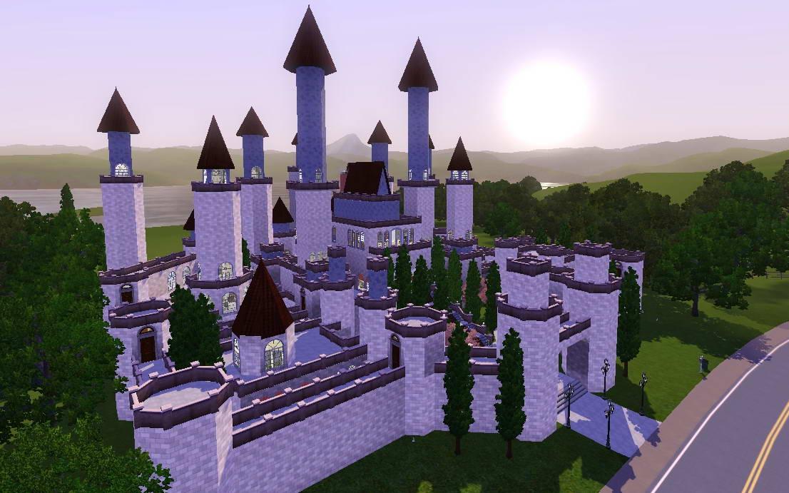 Mod The Sims Crystal Castle