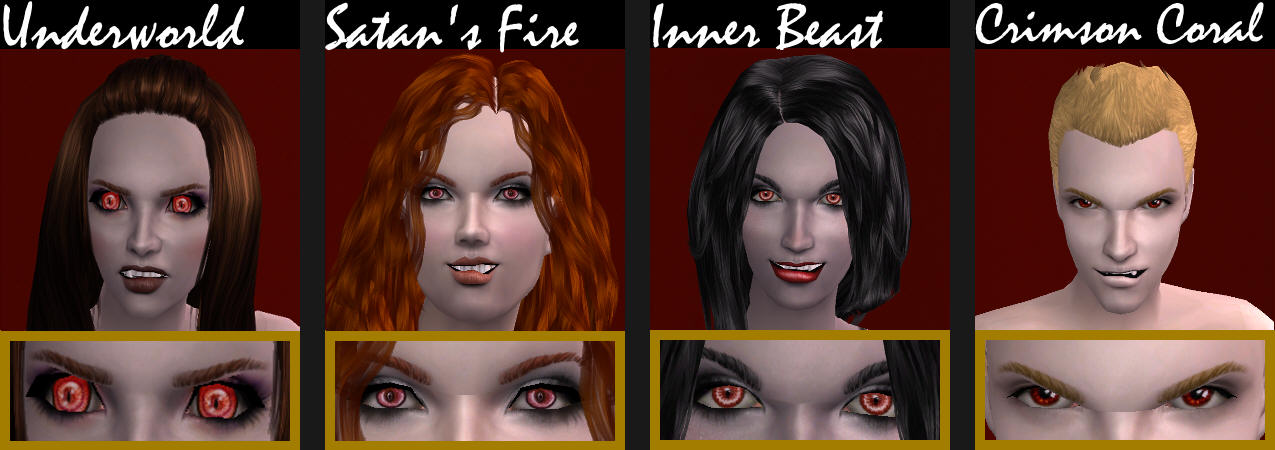 Mod The Sims Hystericalparoxysm S Quot Wraith Quot Skintone As