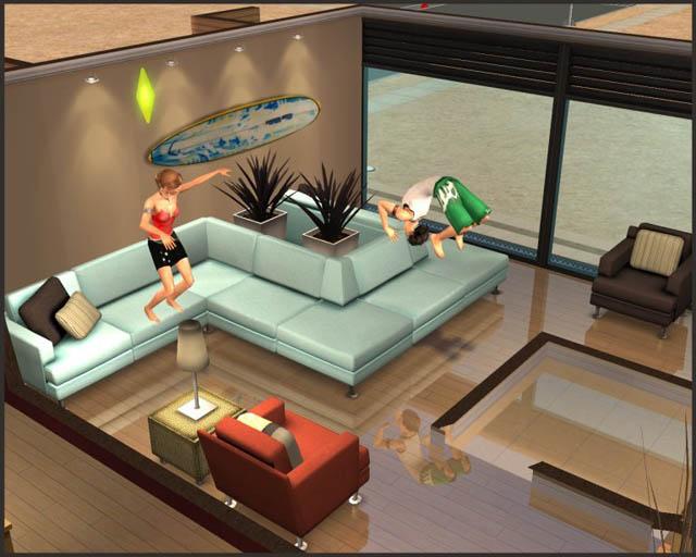 Mod the sims dana modular sofa for Sims 3 sectional sofa download