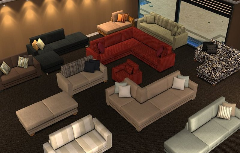 Mod The Sims Annie Modular Sofa Updated 22 Nov 2007