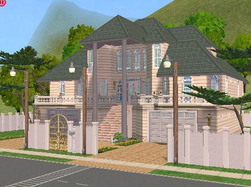 Mod the sims big family house very easy to play nl uni for Big family house