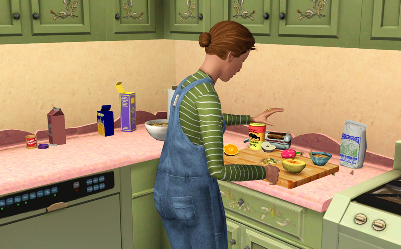how to cook gourmet food in sims 4
