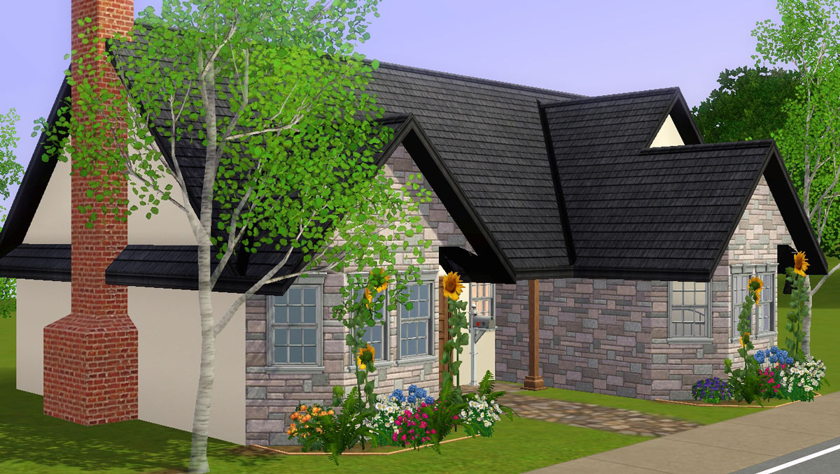 Mod The Sims - 3 Starter Road - A Base Game Compatible, CC