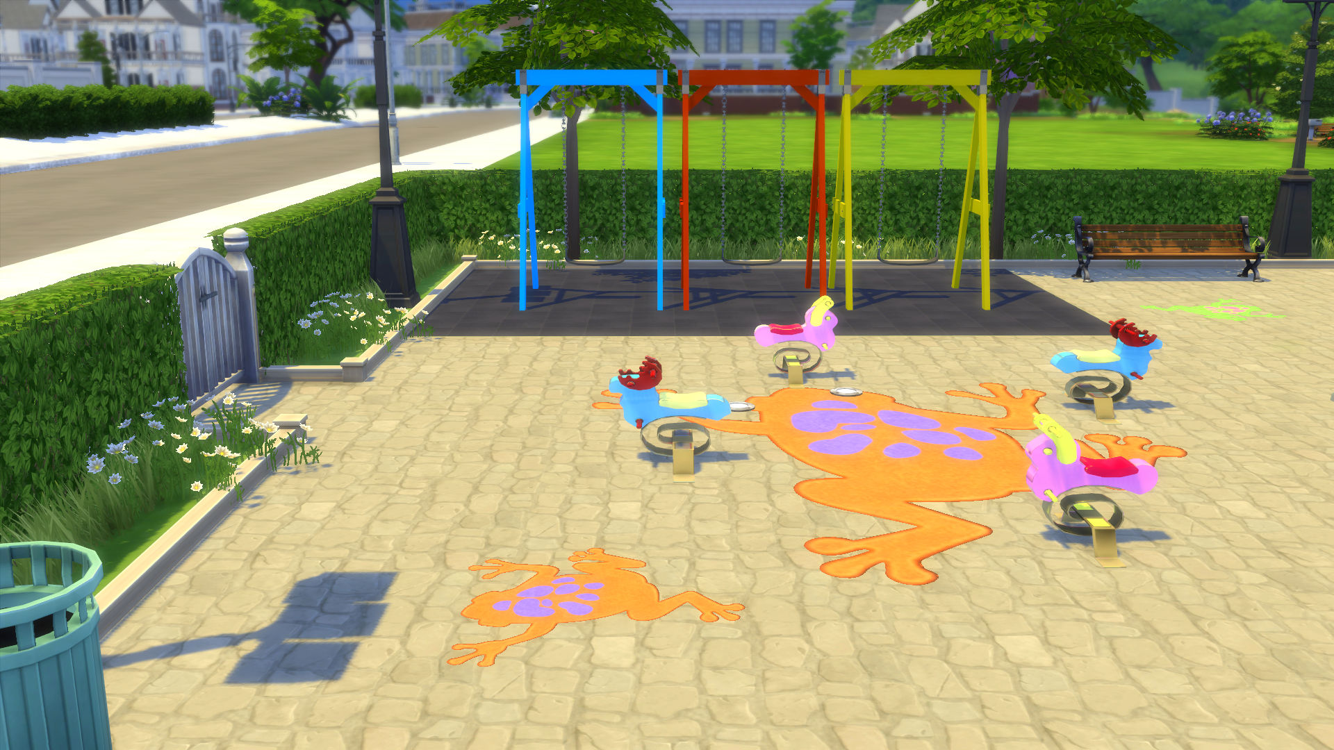 Mod The Sims Froggy s Toddler Playground