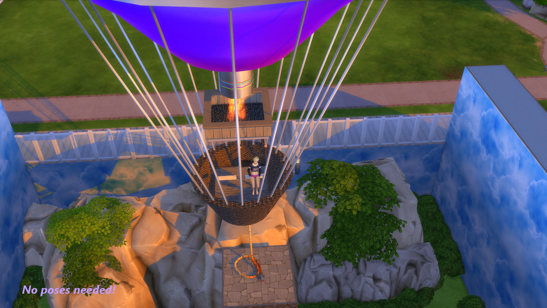 Mod the sims hot air balloon adventure x malvernweather Image collections