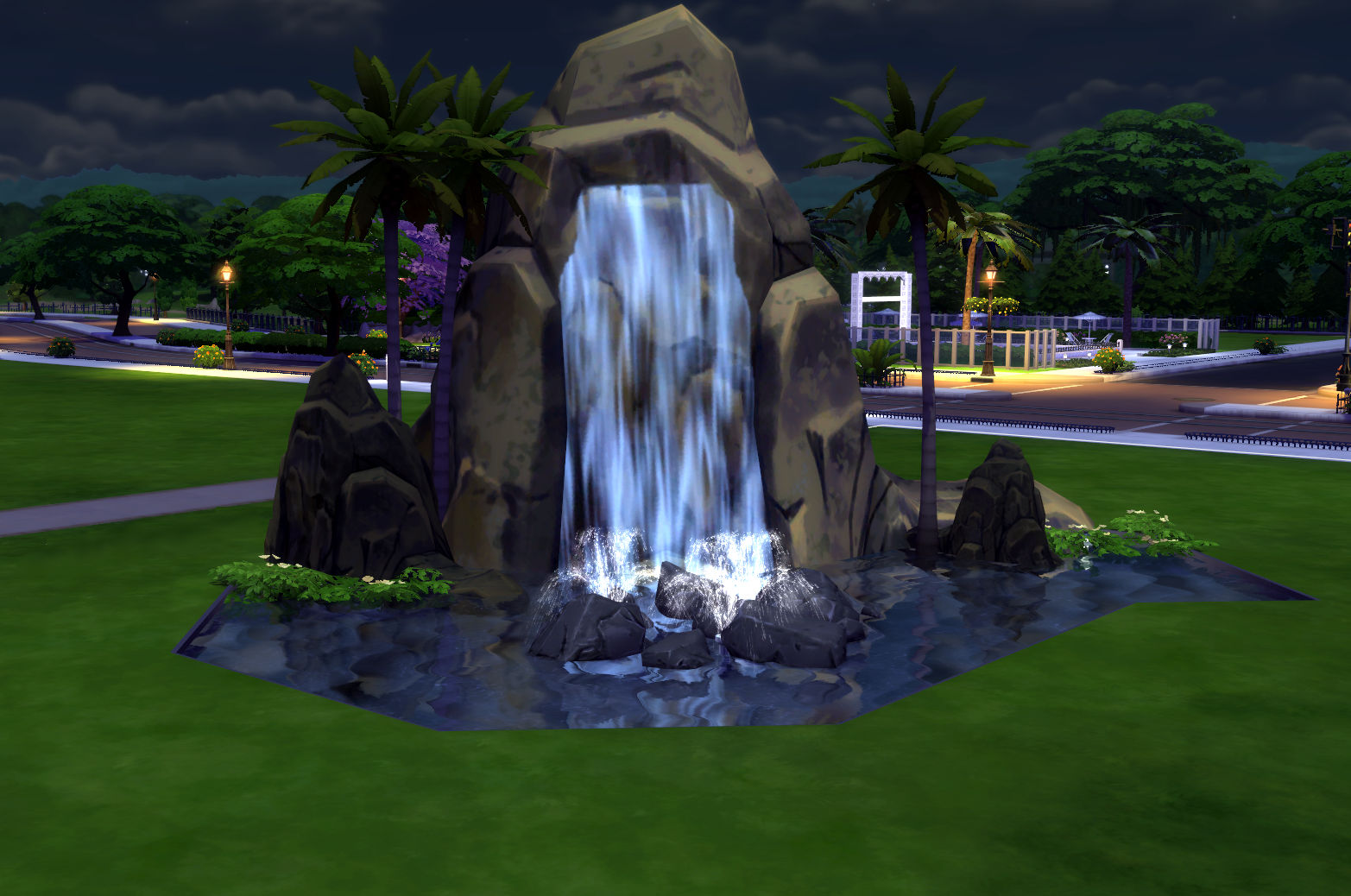 Mod The Sims - Pinnacle Rock and Waterfall