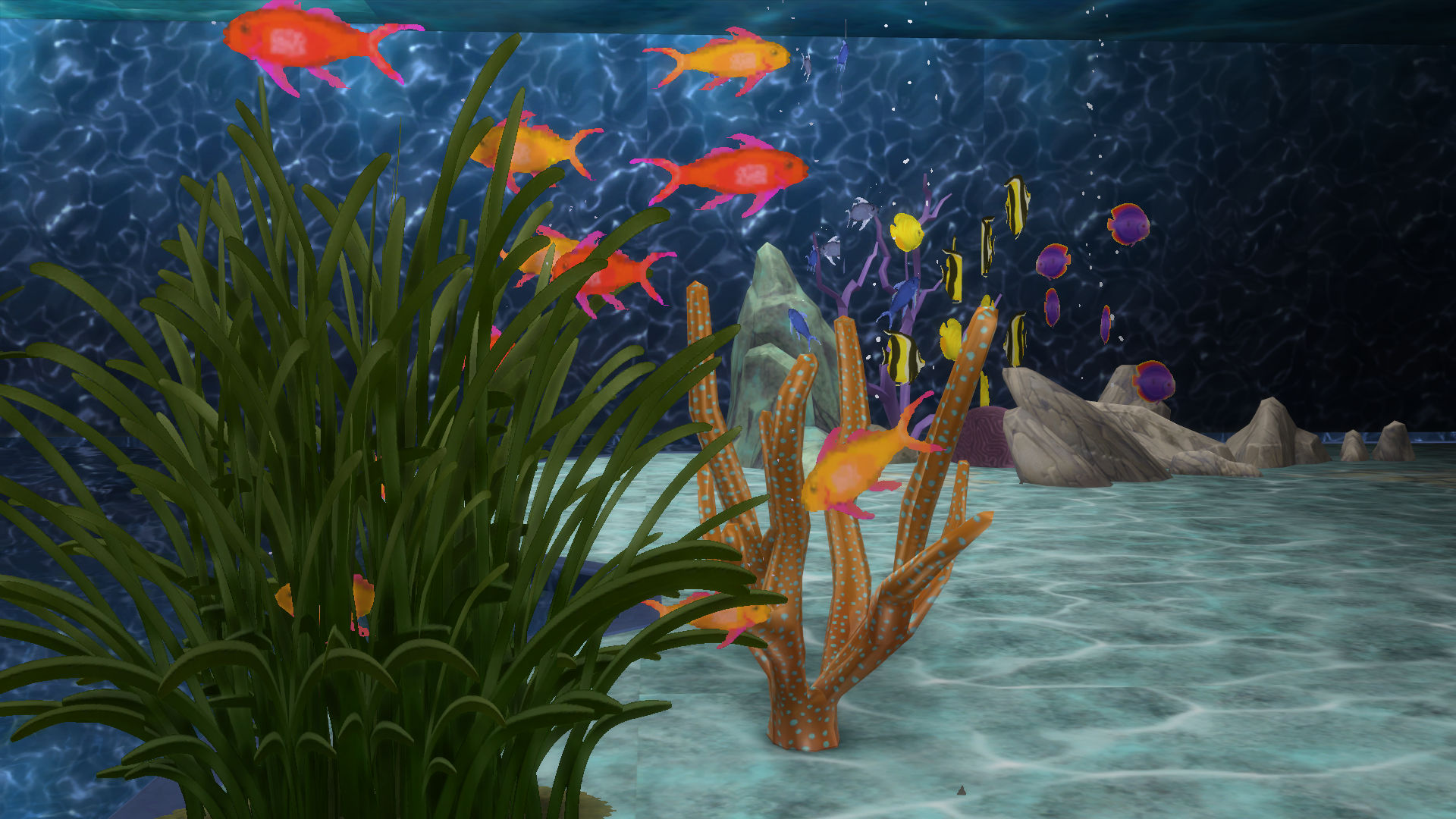 Mod The Sims Mermaid Lake Diving Spot
