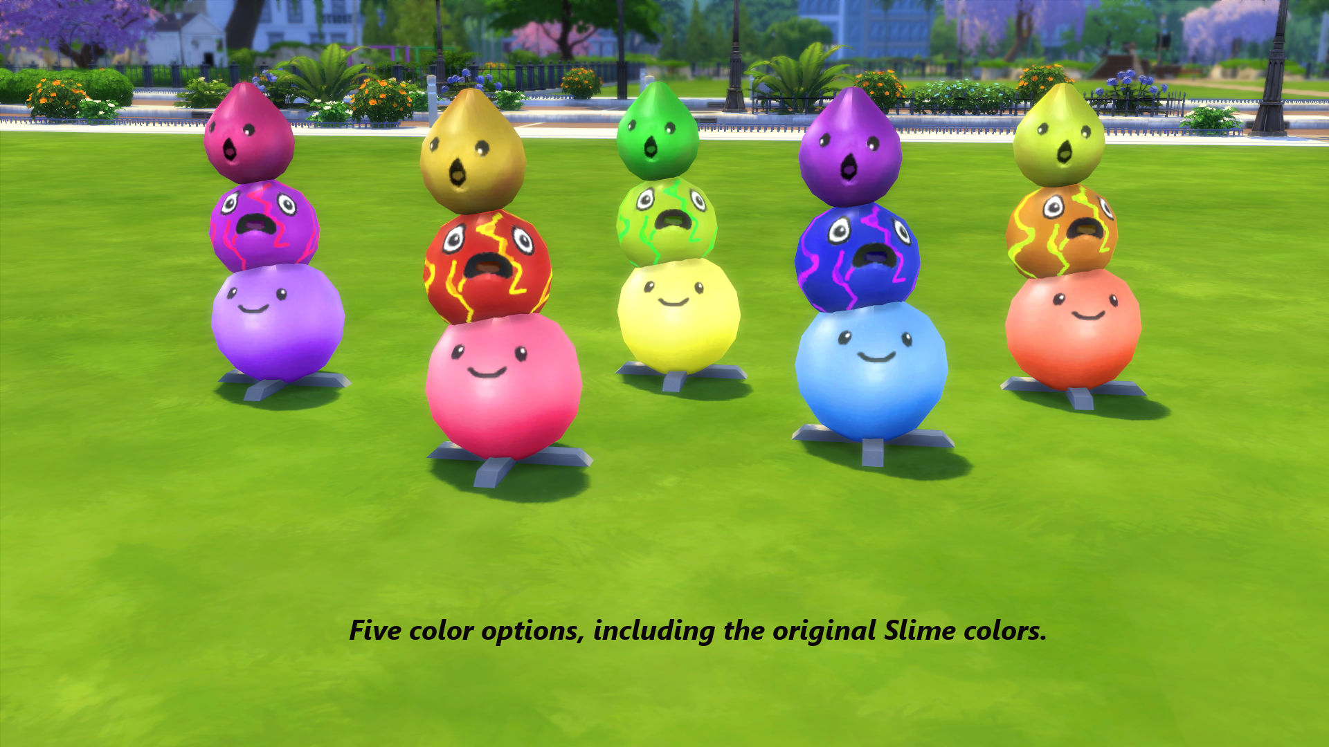 Mod The Sims - Slime Rancher Glowing Floor Sculptures: The
