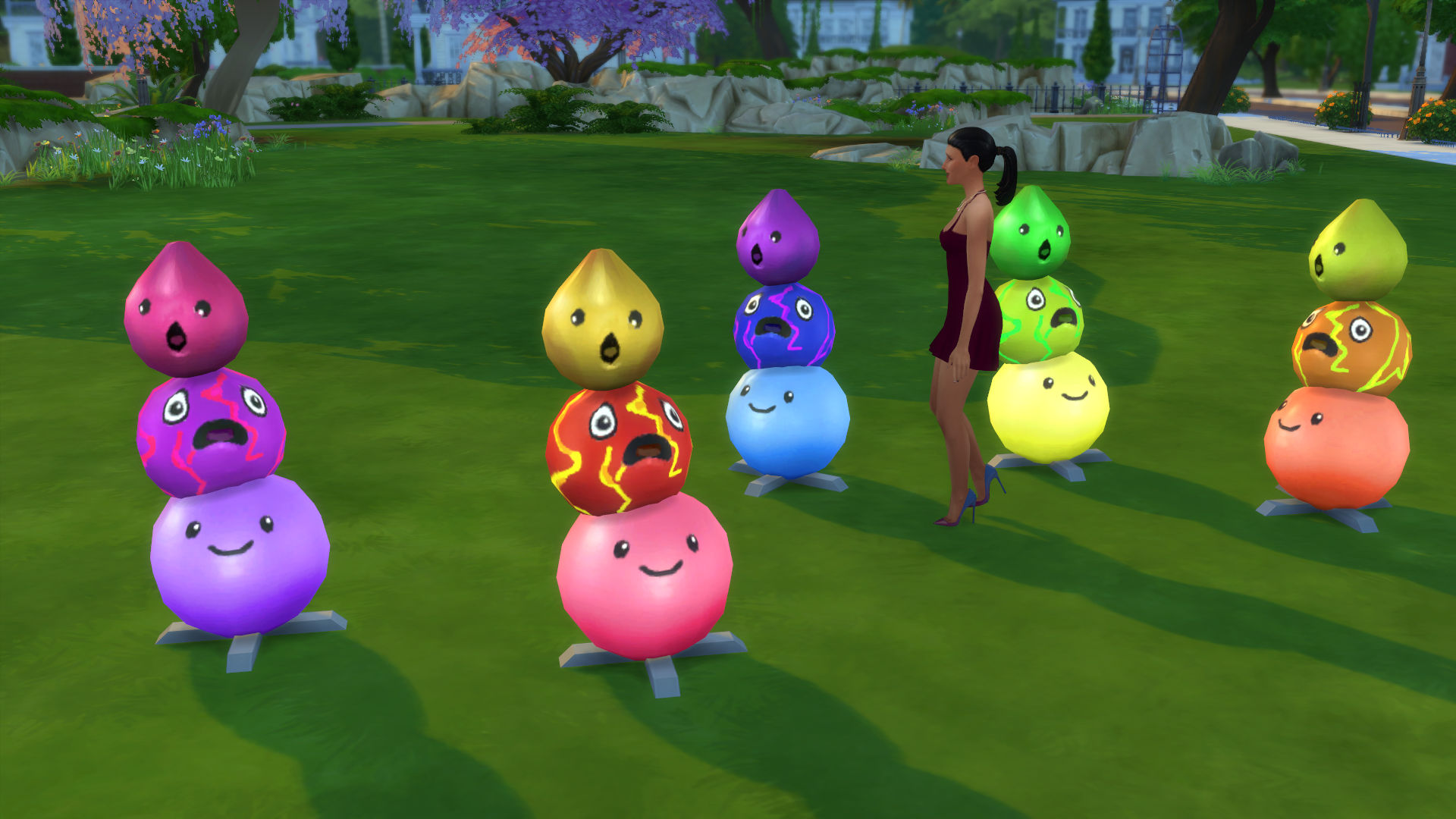 Mod The Sims Slime Rancher Glowing Floor Sculptures The