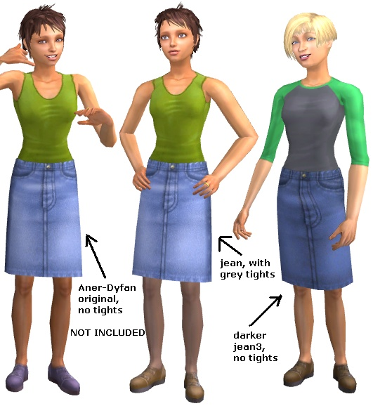 Black Denim Skirt Knee Length - Dress Ala