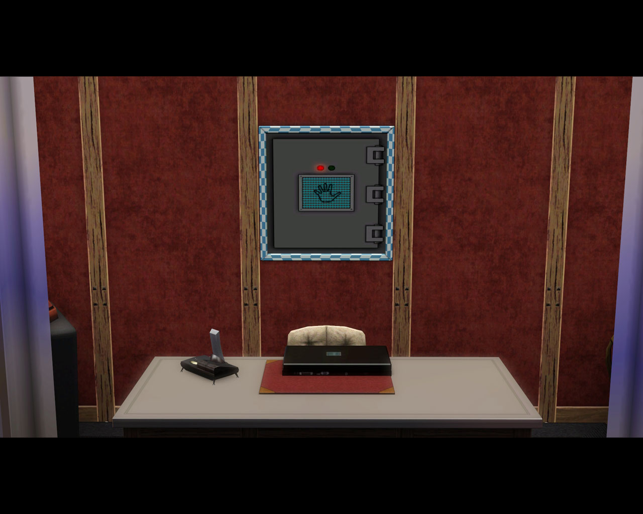 Mod The Sims Biometric Wall Safe