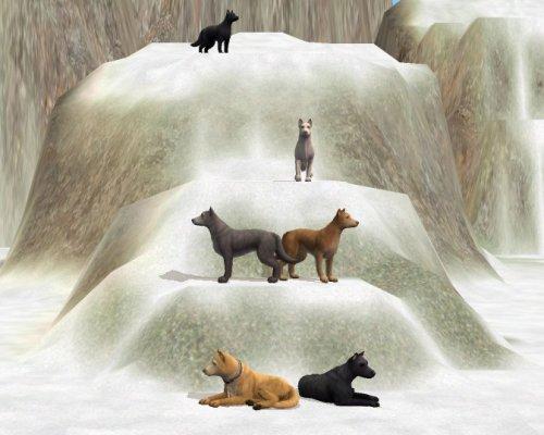 волки волчий дождь симс 4
